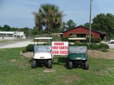 EZGO golf carts for sale